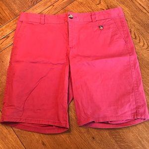 Dockers Red Bermuda Shorts